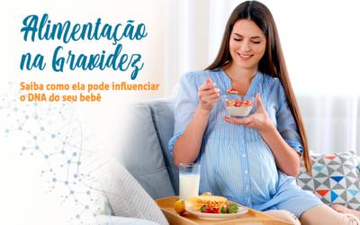 Sua alimentação durante a gravidez pode influenciar diretamente no DNA do seu bebê